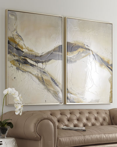 Two-Piece Ascent Giclee on Canvas Wall Art Set