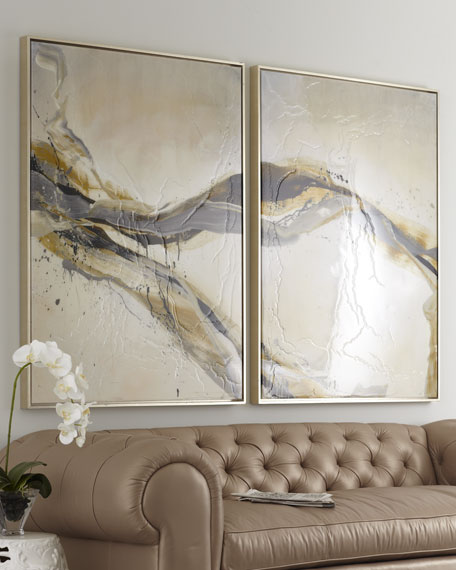 "Two-Piece ""Ascent"" Giclee on Canvas Wall Art Set"