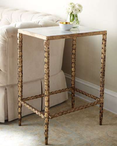 Marble Top Coffee And Side Tables: Marble & Mirrored Coffee Tables At Neiman Marcus Horchow