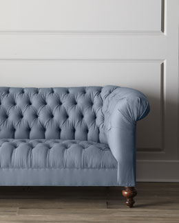 Old Hickory Tannery Ellsworth Tufted Sofa