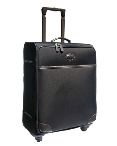Black Pronto 21 Expandable Carry-On Spinner Luggage
