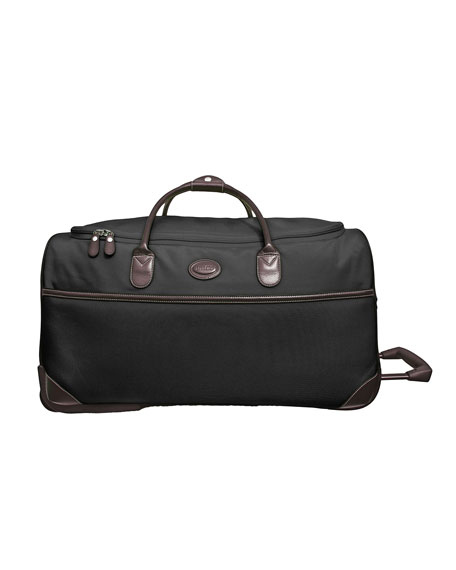 "Black Pronto 28"" Rolling Duffel Luggage"