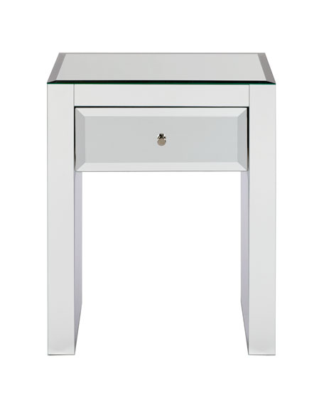 """Kacie"" Mirrored Table"