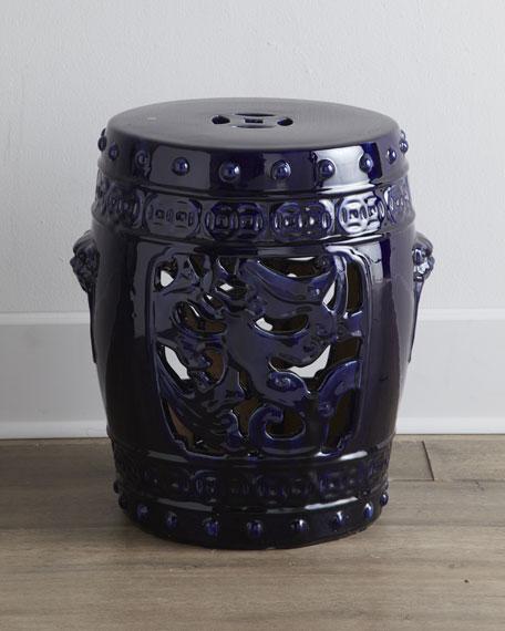 Vintage Ceramic Garden Seat