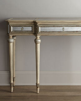 """Dresden"" Mirrored Console"