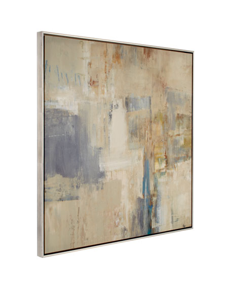 """Rendezvous"" Abstract Giclee on Canvas Wall Art"