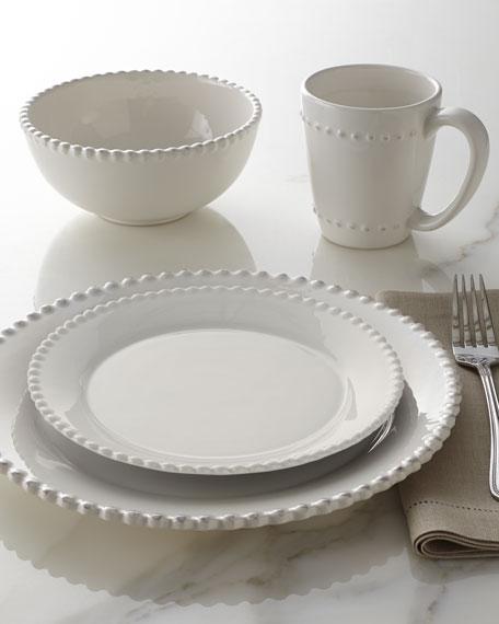& 16-Piece Bianca Beaded-Edge Dinnerware