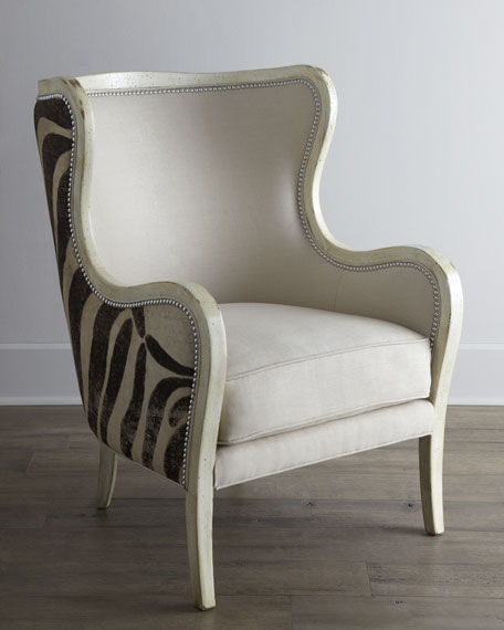 Massoud Cartata Wing Chair