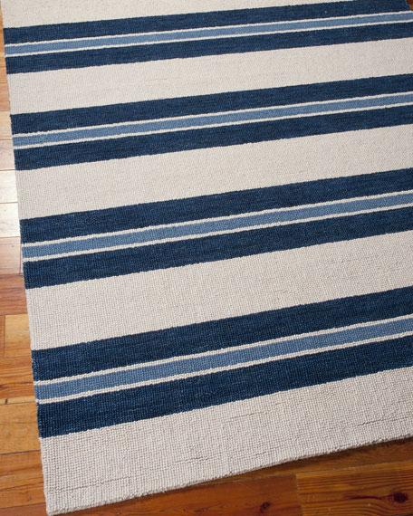 "Harbour Stripe Rug, 3'6"" x 5'6"""