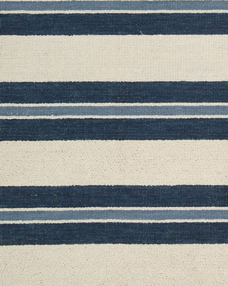"Harbour Stripe Rug, 7'9"" x 10'10"""