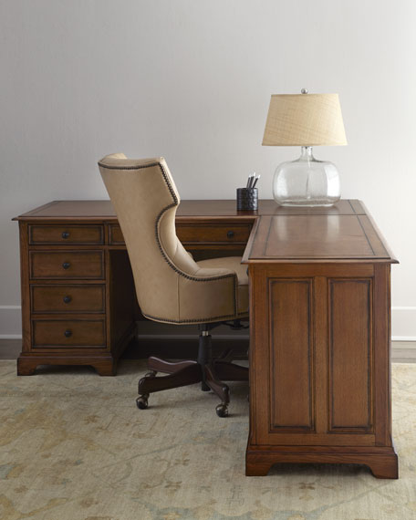 "Pine Harbor ""L"" Desk"