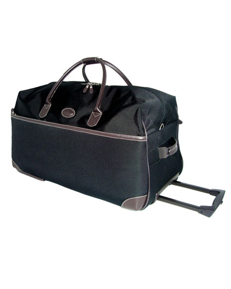 "Black Pronto 21"" Rolling Duffel Luggage"