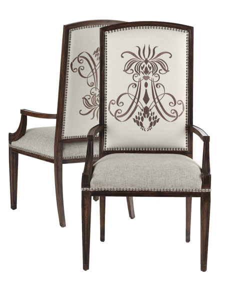 Two Donabella Insignia Armchairs