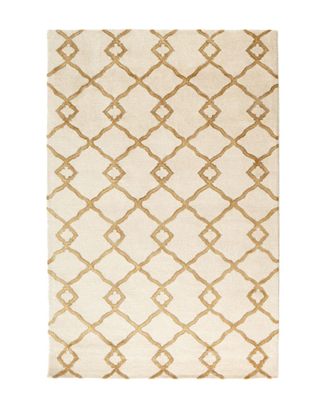"Crossing Diamond Rug, 3'9"" x 5'9"""
