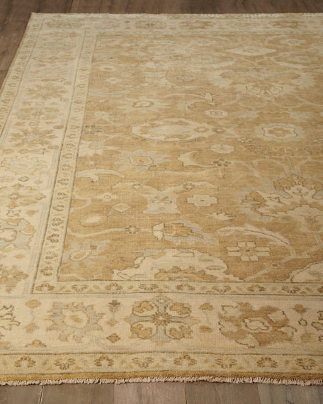 Exquisite Rugs De'Asiah Oushak Rug, 6' x 9'