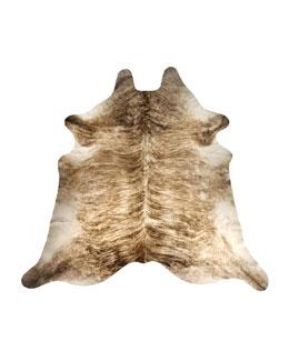 Brindle Hairhide Rug, 6' x 7'5