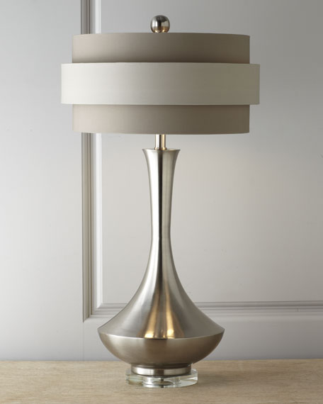 Neutral Orbit-Shade Table Lamp