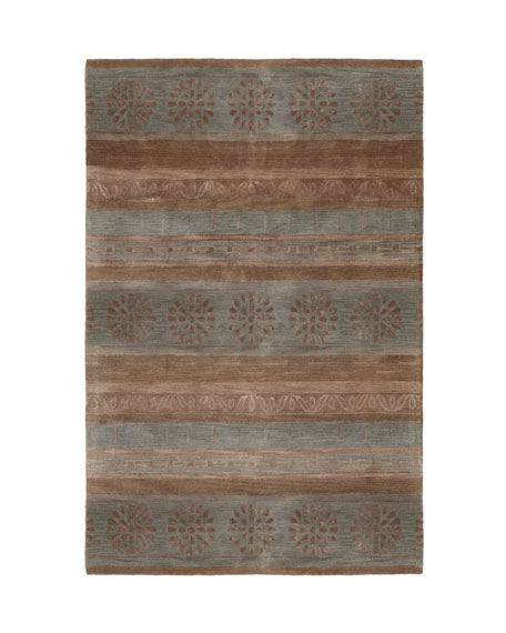 "Eastside Striped Rug, 3'9"" x 5'9"""