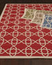 "Locking Hex Rug, 5'3"" Round"