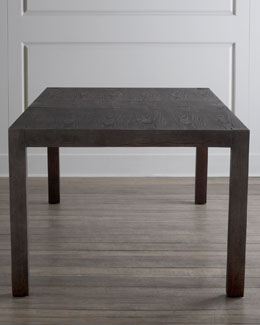 """Karington"" Espresso Dining Table with Two Leaves"