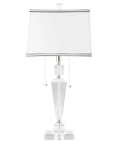 """Inverted Obelisk"" Table Lamp"