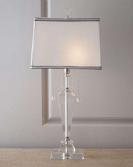Inverted Obelisk Table Lamp