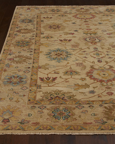 Harounian Rugs International Sable Peshawar Rug, 6' x