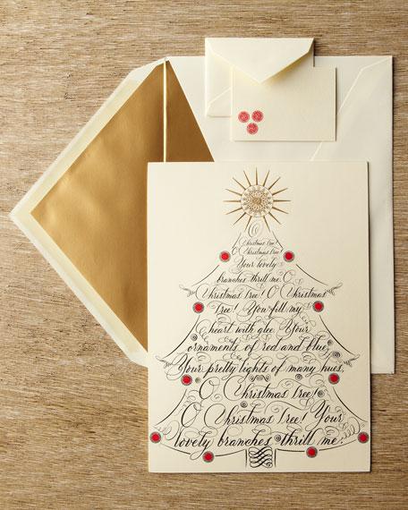 """""""O Christmas Tree"""" Christmas Card"""