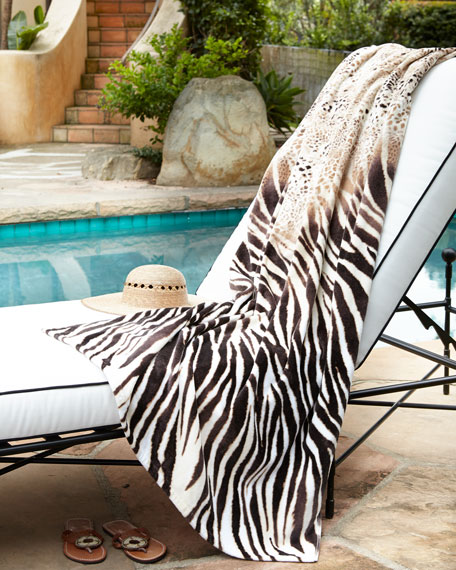 """Safari"" Beach Towel"