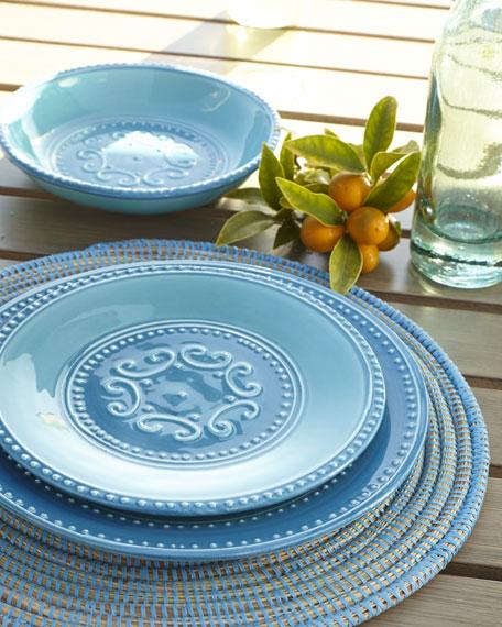 """12-Piece """"Azul"""" Dinnerware Service"""