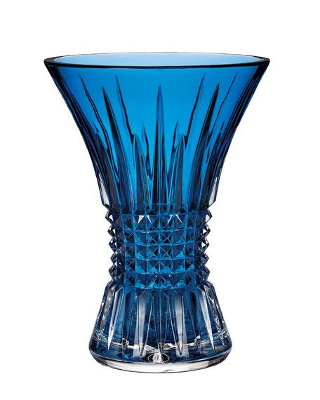 Lismore Diamond Sapphire Vase