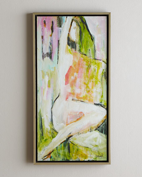 """Nude at Sunrise"" Giclee on Canvas Wall Art"