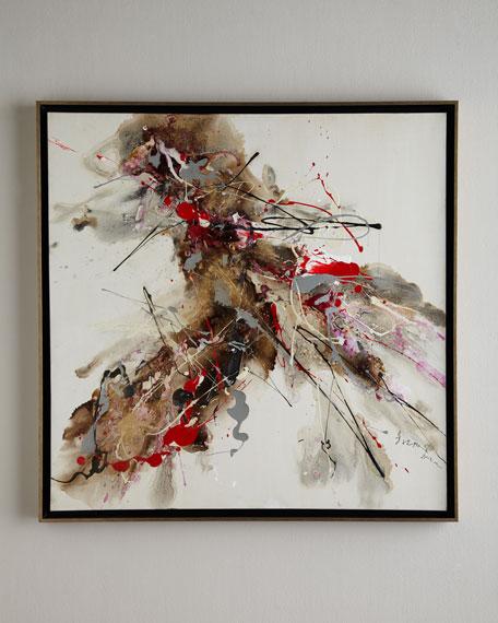 """Splat!"" Original Abstract Painting"