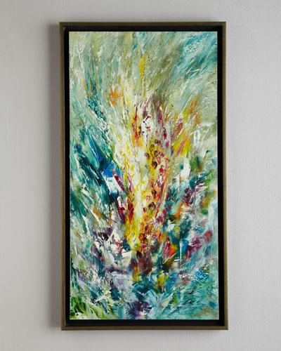 Gladiolus Jinlu Original Oil Painting
