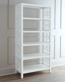 """White Spur"" Bookcase"