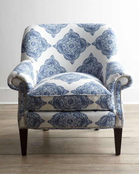Blue Roxi Chair