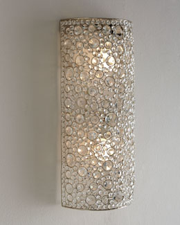 Scattered Crystal Sconce
