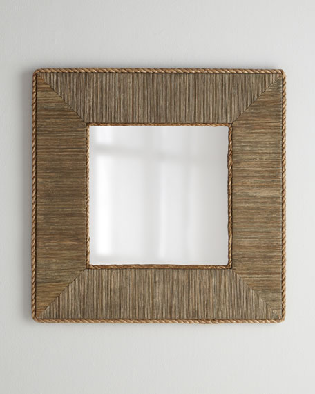 """Basket Rope"" Mirror"