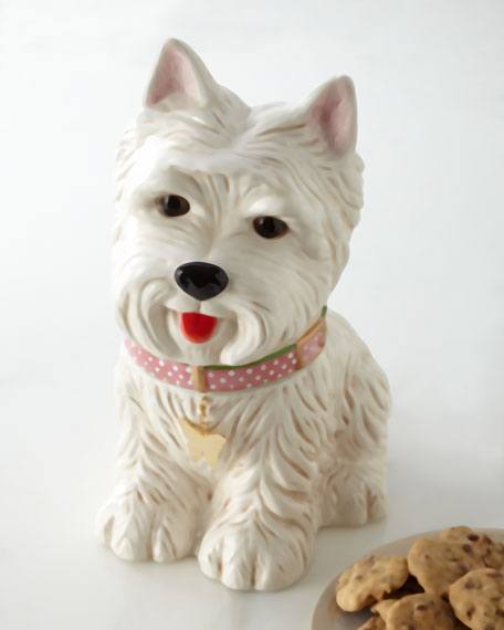 """Westie"" Cookie Jar"