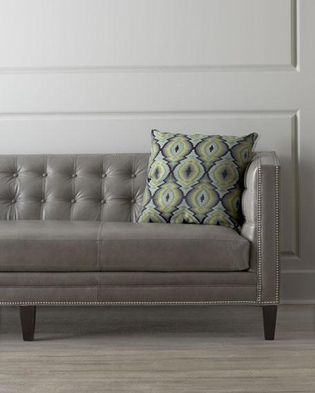 Dove Leather Sofa