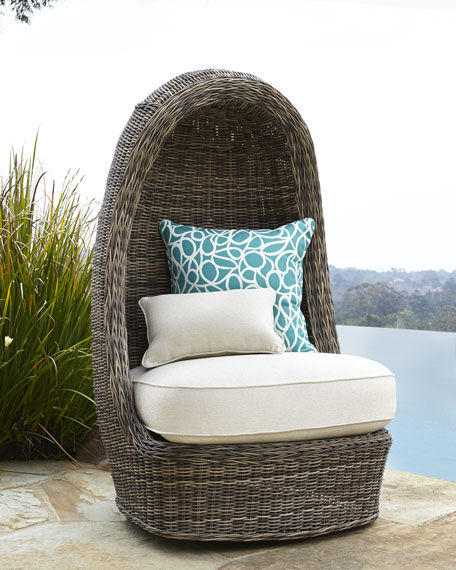 Madison Dark Swivel Lounge Chair