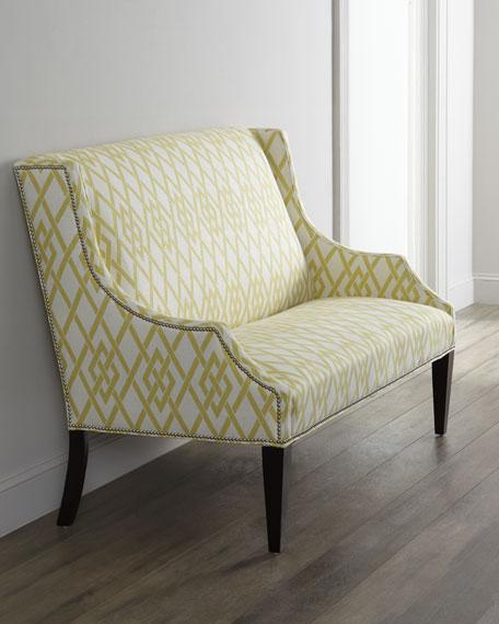 Lemon Maze Settee