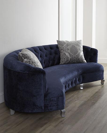 "Majestic Jayne Tufted Sofa 114"""