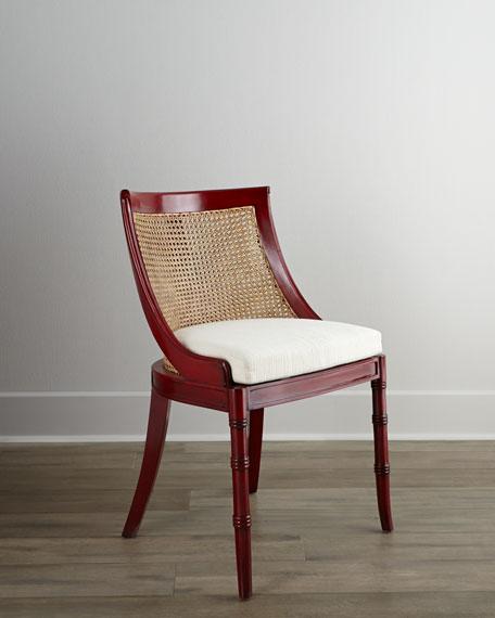Crimson Side Chair