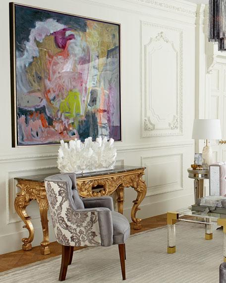Tiffany Damask Chair