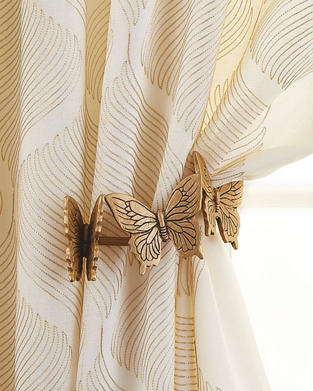 Curtain Furnishings : Tie-Backs & Holdbacks at Neiman Marcus Horchow
