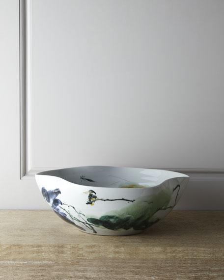 Large Curled-Rim Bowl