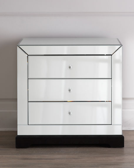 """Keisha"" Mirrored Chest"