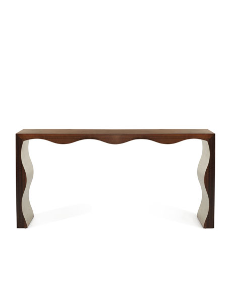 Sasha Scalloped Console