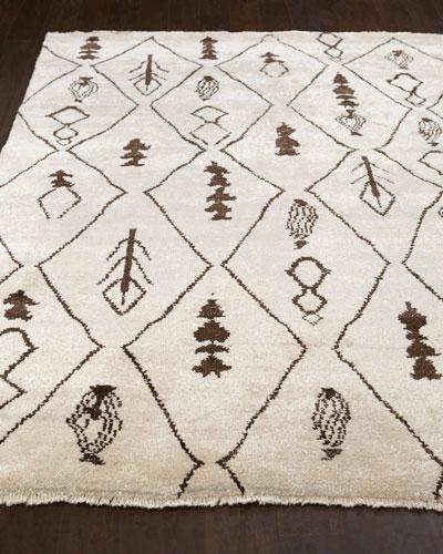 Moroccan Sand Rug  8' x 10'